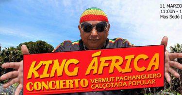 Concierto King África Mas Sedo