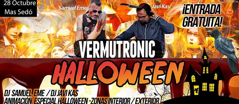 Vermutronic Halloween 2017 Mas Sedo